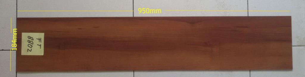lantai vnyl motif kayu - ukuran